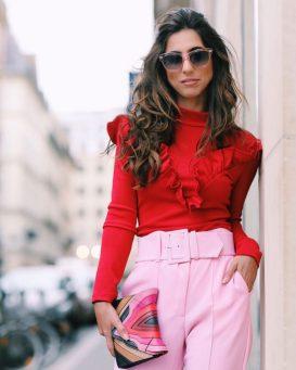 look-rosa-e-vermelho-819x1024